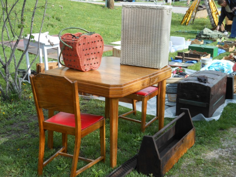 Tables, toolboxes, baskets and more.